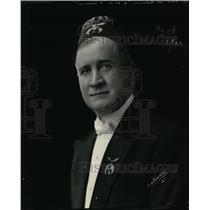 1922 Press Photo John D McGilvray Past Potentate Imperial Ancient Arabic Order