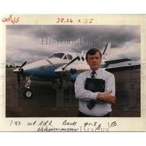 1993 Press Photo Bill Poppino - ora76365