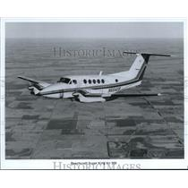 1988 Press Photo Beachcraft Super King Air 300 - orb13594
