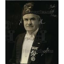 1922 Press Photo James S McCandless Imperiial Deputy Potentate Shriners