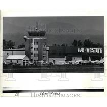 1984 Press Photo Troutdale Air Traffic Control Tower - orb55928