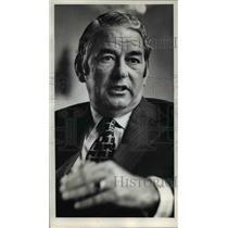 1972 Press Photo William T. Seawell Pan American World Airways President