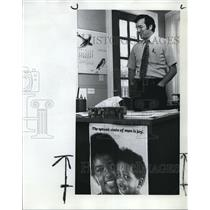 1974 Press Photo Frank McNamara, one of two newcomers to Portland School Board
