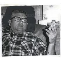 1969 Press Photo Grant Waheneka, Chairman of tribal council - ora93727