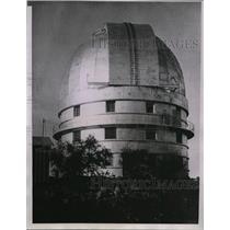1935 Press Photo dome of the McDonald Observatory at University of Texas
