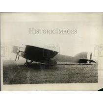 1928 Press Photo Fighting Plane by French Government by Bleriot Aeronautical Wor