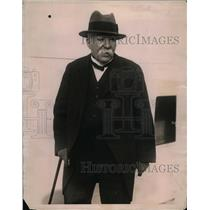 1923 Press Photo Georges Clemenceau former Premier of France in NYC