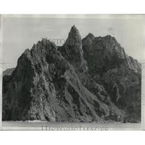 1929 Press Photo North End of South Trinidad Island Spain