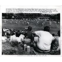 1970 Press Photo Kansas City Chiefs at workout in Liberty Missouri - nes42553