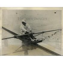1926 Press Photo Prince Takamatsu of Japan in his scull boat - nes42776