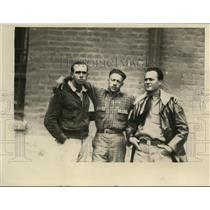 1929 Press Photo Stanley Thompson, Jack O'Brien & Former Lr Art J Smith