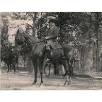 1920 Press Photo Constantin Brun Danish Minister at Rock Creek Park in DC
