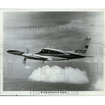 1966 Press Photo A Turbo system executive Skynight plane in flight - nex99911