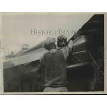 1942 Press Photo All set for New York from San Francisco Flight - neb39569