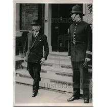1936 Press Photo British Colonial Secretary JH Thomas to testify - neb38936
