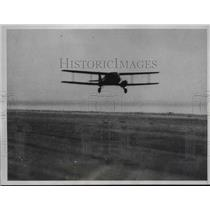 1934 Press Photo Leonard G Reid & JR Ayling on Trans Atlantic crossing