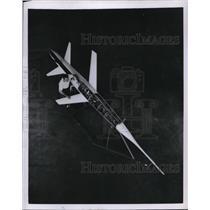 1952 Press Photo Supersonic Flights at Ames Aeronautical Laboratory - neb39759