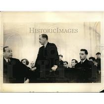 1933 Press Photo William Thornton on trial for espionage in Moscow Russia