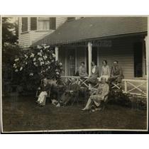1927 Press Photo Dr Paul Taschereau, Premier & Mrs Taschereau of Canada
