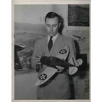 1941 Press Photo S.Paul Johnston National Advisory Committee - neb39778