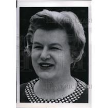 1968 Press Photo Mrs. Ellworth Bunker - spx00835