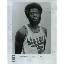 1971 Press Photo Sidney Wicks, Portland Trail Blazers Forward Rookie of the Year