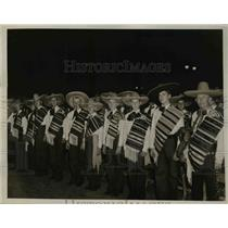 1935 Press Photo Group of Boy Scouts from El Paso Texas