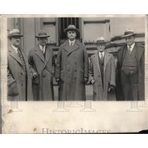 1930 Press Photo Texas mayors & city officials visit New York