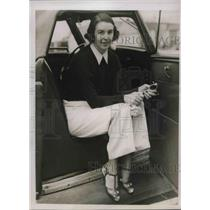 1938 Press Photo Santa De Wagner arrested on espionage charges