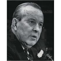 1967 Press Photo Lester B Pearson Nobel Peace Prize winner - spx02702