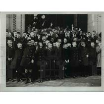 1923 Press Photo Young Recruits for All White Australia from Barnardo Homes