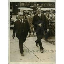1920 Press Photo Herbert Campbell on trial in DC for muder of Mary Baker