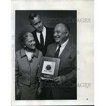 1969 Press Photo National USO President Emmett ODonnell Honored At Luncheon