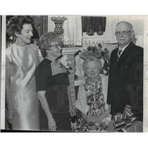 1969 Press Photo Mr. & Mrs. J. Webster Hancox - spa08242