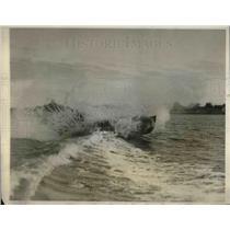 1926 Press Photo Del Lord's boat Midge II in race near LA California - neb66200