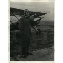1929 Press Photo Lt WIlfred G Moore Holds Worlds Altitude Record - ney01381