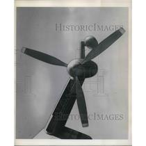 1951 Press Photo Propeller Steel bladed Curtiss Wright Zep-Props - neb40046