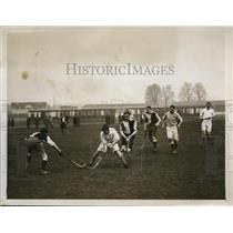 1926 Press Photo Surrey field hockey match at Richmond, Mid Suury vs Cambridge