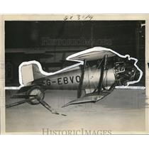 1931 Press Photo Atcherlyis Plane - cvp74682