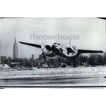 1970 Press Photo CCW5 an experimental plane at New Jersey's Teterboro Airport