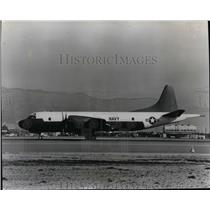 1959 Press Photo Airplane Lockheed P3V-1 - spx03827