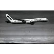1962 Press Photo Boeing 757 Cargo Transport airplane  - spx03583