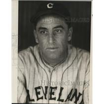 1931 Press Photo Howard Shanks of Cleveland Indians - cvs02043