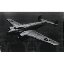 1938 Press Photo Army Plane Lockheed Electra XC - spx03279
