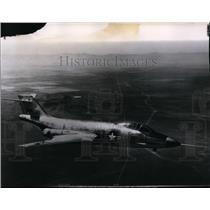 1954 Press Photo F-101 Voodoo Fighter Supersonic Long-range plane - spx03473
