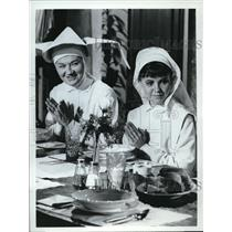 1967 Press Photo ABC presents The Flying Nun with Marge Redmond and Sally Field