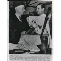 1940 Press Photo Clark Griffin President Of Washington Nationals - cvs01368