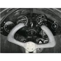 1941 Press Photo Instrumental panel in a typical glider - spx03395