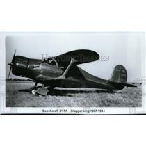 1937 Press Photo Beechcraft D17A Staggerwing  - spx03287