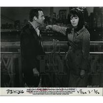 1967 Press Photo Jack Lemmon and Elaine May in Luv - cvp80527